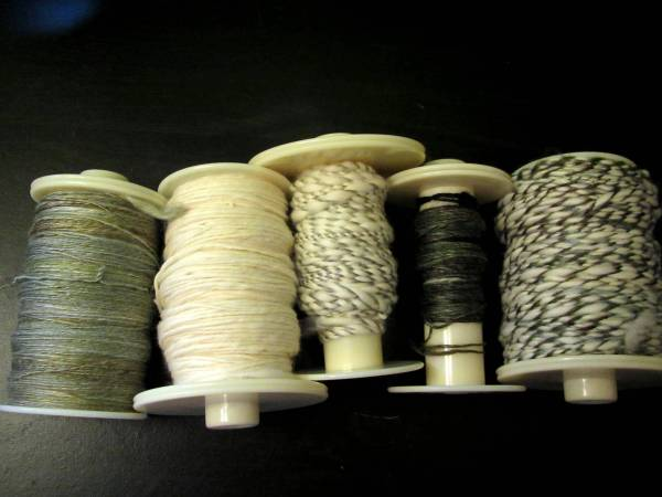 Thick and Thin Art Yarn