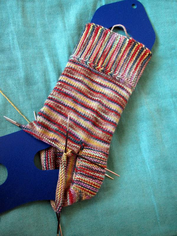 BMFA Socks That Rock Lightweight. Click for pattern page.