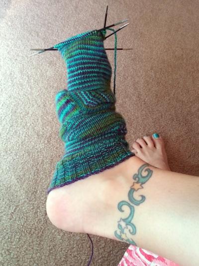 Sock knitter's nightmare.
