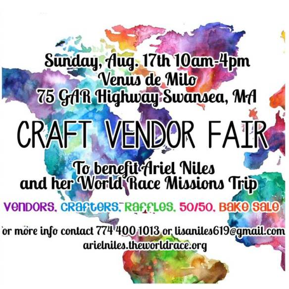 Vending on August 17th in Swansea, MA.