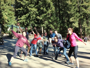 Pre-hike group shot