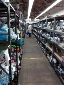 Yarn as far as the eye can see!