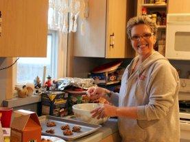 Mom, a.k.a. cookine nazi