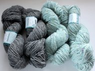 Peace Fleece Merino/Mohair yarn