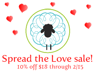 10% off sale at Sweet Sheep Body Shoppe!