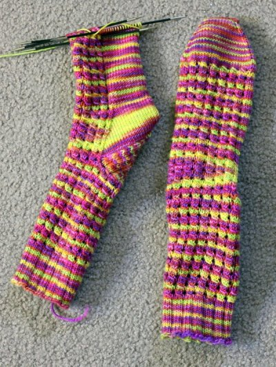 WIPWed #88: The Toes Are The Best Part | Woolen Diversions