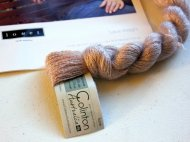 Colinton lace mohair yarn