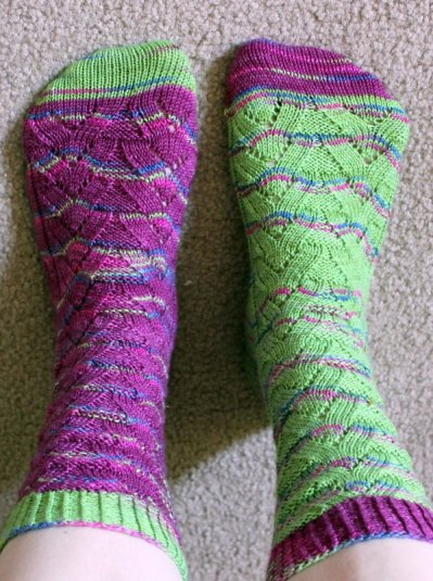 Camelot Socks and Other WIPs