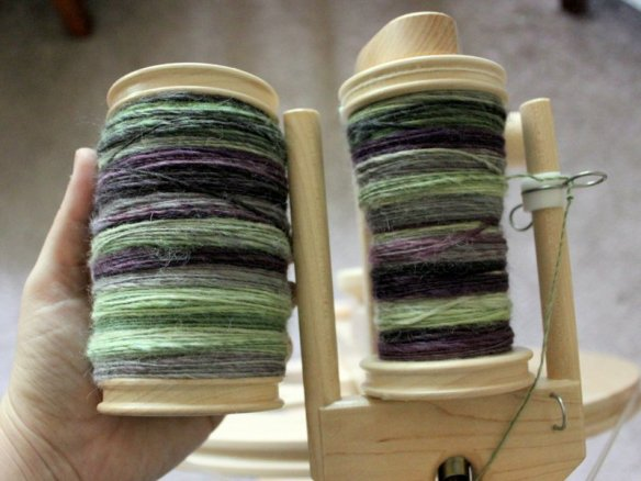 WIPWed #99: Spinning Through | Woolen Diversions