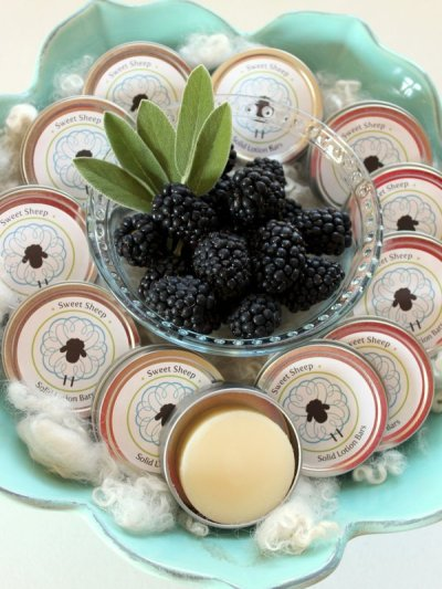 Blackberry Sage lotion bar