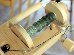 Spinning more Polwarth.