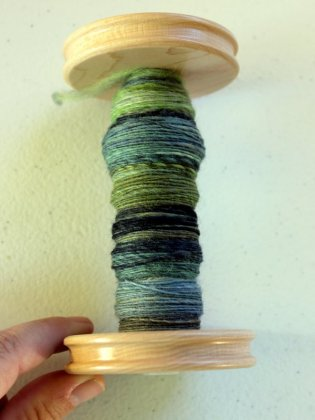 Polwarth sock yarn