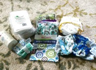 Cloth diaper supplies, woohoo