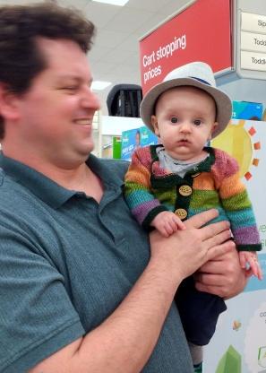 Wearing with fancy hats.